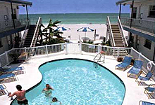 Great Heron Inn Is A Family Run Motel With 16 Suites Offering Pool Side And Gulf Front Units Heated Featuring Full 1 Bedroom Apartment